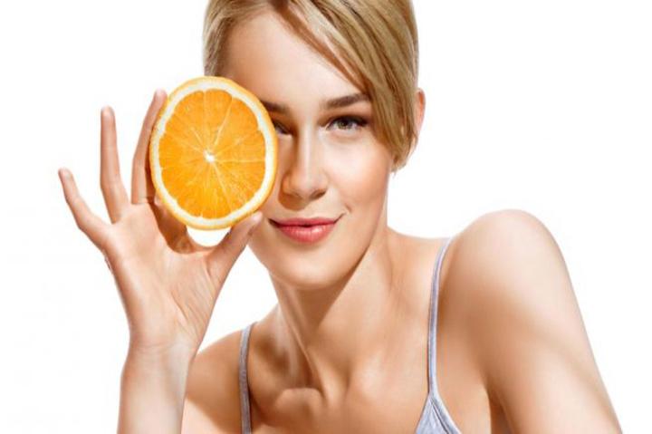 البرتقال للبشرة