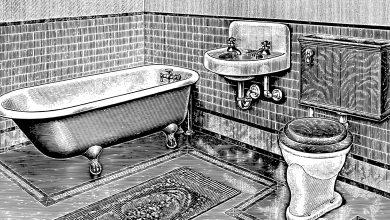 تفسير تنظيف المرحاض المتسخ في المنام