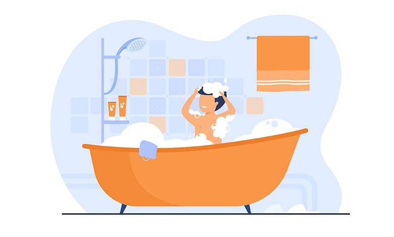 تفسير حلم الاستحمام للمطلقه