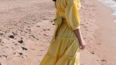 الفستان الأصفر في المنام للمطلقه
