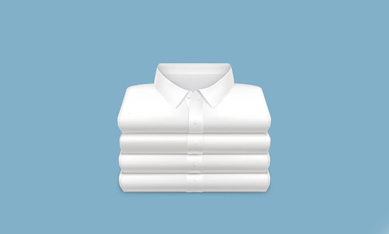 اعطاء الملابس البيضاء في المنام