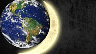 حجم الكواكب مقارنة بالارض