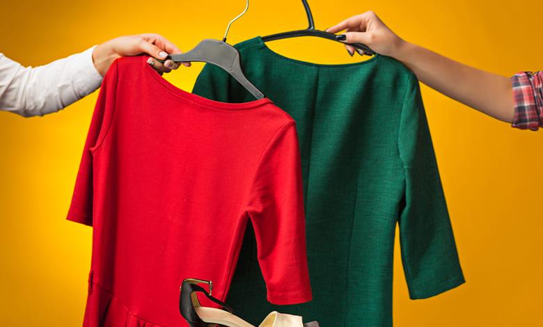 تفسير حلم الملابس على الأرض