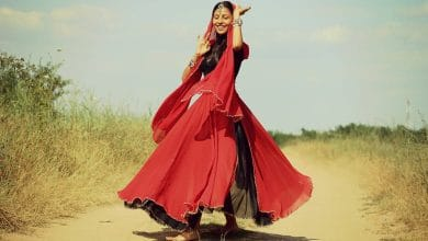 حلم حبيبي جابلي فستان احمر