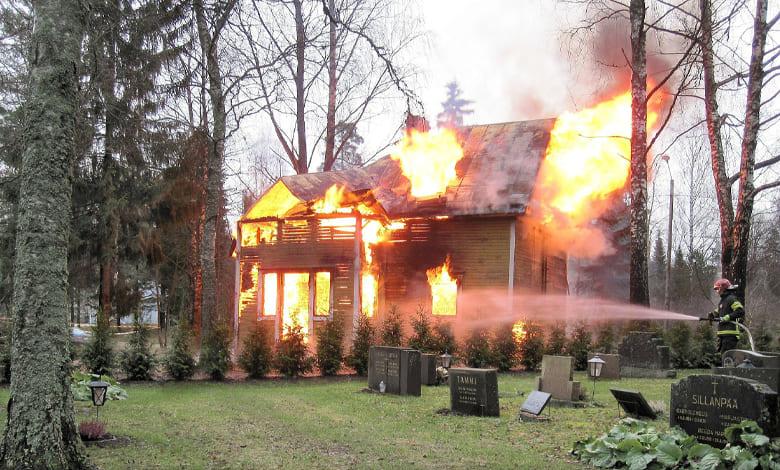 تفسير حلم الحريق في بيت الجيران للحامل
