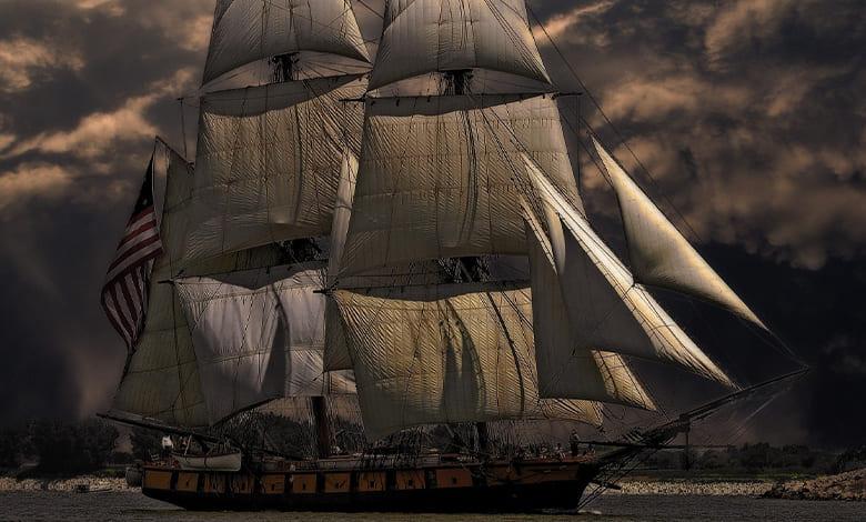 تفسير السفينة على اليابسة للعزباء