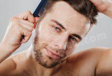 الشعر المنكوش في المنام للرجل